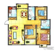 中迈王城之珠3室2厅2卫0平方米户型图