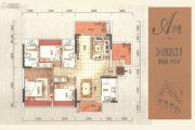 光明花半里4室2厅2卫0平方米户型图