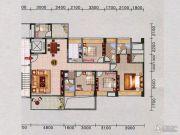 红棉雅苑3室2厅2卫136平方米户型图