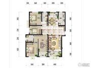 广厦・聚隆广场3室2厅2卫165平方米户型图