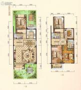 中梁・悦荣府5室2厅3卫172平方米户型图