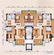 柏嘉名庭128--143平方米户型图