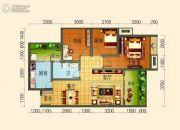 滨河壹号3室2厅1卫79平方米户型图