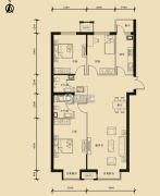 九星国际e世界3室2厅2卫136平方米户型图