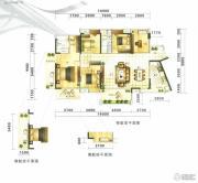 满京华喜悦里5室2厅2卫131平方米户型图