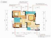 佳兆业滨江新城3室2厅2卫0平方米户型图
