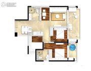 鸿坤・山海墅4室2厅2卫100平方米户型图