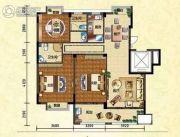 金马豪庭130平方米户型图