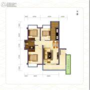 海南旅居地产3室2厅1卫0平方米户型图