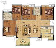 广州万达城4室2厅2卫116平方米户型图