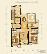 永定河孔雀城英国宫3室2厅2卫127平方米户型图