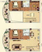 佳田西湖岸3室2厅2卫101平方米户型图