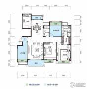 大洋五洲2室2厅2卫150平方米户型图