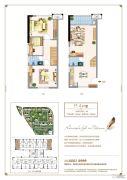 三盛托斯卡纳3期3室2厅2卫50平方米户型图