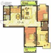 东方明珠3室2厅2卫158平方米户型图
