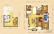 世嘉光织谷4室2厅2卫205平方米户型图