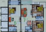 春天海景1室1厅1卫48--88平方米户型图