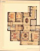 华鸿・艺墅4室2厅2卫142平方米户型图