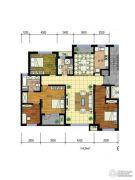 国际花都3室2厅1卫0平方米户型图