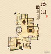 永隆城市广场4室2厅3卫191平方米户型图