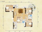 香颂诺丁山4室2厅2卫101平方米户型图