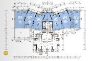保利国际广场68--100平方米户型图