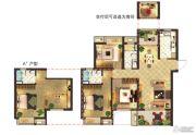 莱蒙水榭阳光0室0厅0卫117平方米户型图