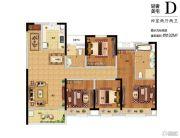 新西塘孔雀城印象澜庭4室2厅2卫0平方米户型图