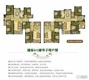 奥北公元4室2厅2卫0平方米户型图