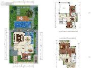 雅居乐云南原乡3室2厅3卫211平方米户型图