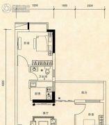 联冠广场2室1厅1卫0平方米户型图