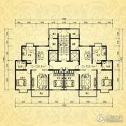银河湾・3号院2室2厅1卫126平方米户型图