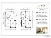 东田青年城2室2厅1卫89--97平方米户型图