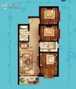 北海・水印泉山3室2厅1卫111平方米户型图