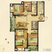 龙湖龙誉城4室2厅2卫143平方米户型图
