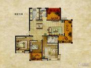 达安上品花园3室2厅2卫141平方米户型图