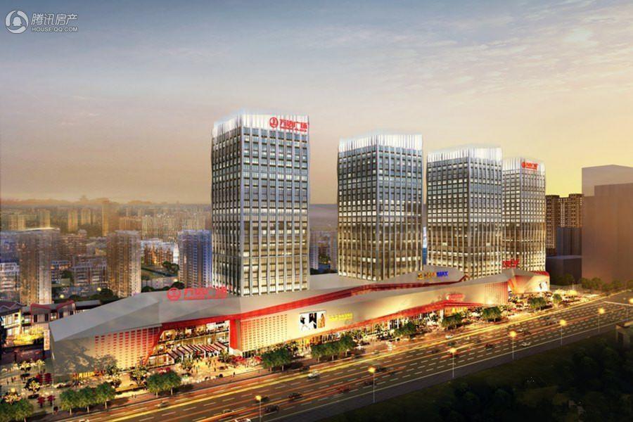 徐州铜山万达广场商业夜景图