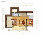 绿地城2室2厅1卫159平方米户型图