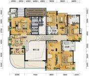 凤凰谷6室4厅7卫655平方米户型图