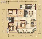 万锦名门4室2厅2卫122平方米户型图