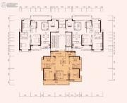 充耀盛荟4室2厅2卫160--162平方米户型图