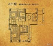 招商・北固湾3室2厅2卫0平方米户型图