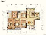 路桥锦绣国际5室2厅2卫124平方米户型图