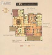 碧桂园梅公馆3室2厅2卫131平方米户型图