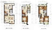 绿城西子田园牧歌4室3厅3卫174平方米户型图
