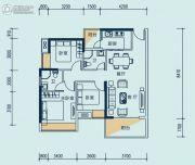 礼顿・金御海湾3室2厅2卫0平方米户型图