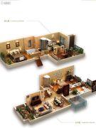 龙湖拉特芳斯4室2厅3卫110平方米户型图