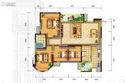 格林城4室2厅2卫114平方米户型图