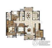 电建�吃酶�4室2厅2卫130平方米户型图