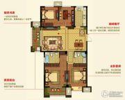 明月湾4室2厅2卫119--134平方米户型图